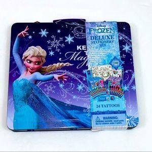 NEW Disney Frozen Deluxe Stationary Set